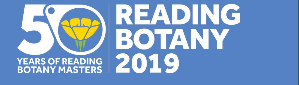 Reading Botany 2019